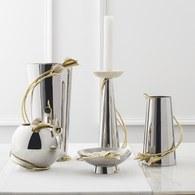美國MichaelAram工藝飾品 幸福海芋系列花器 (高33公分)