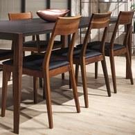 義大利OliverB CAPRI經典原木餐椅