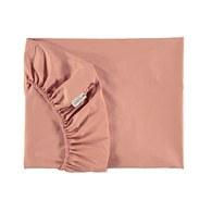 西班牙Nobodinoz有機棉嬰兒床床包 (甜蜜粉)