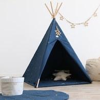 西班牙Nobodinoz 印第安帳篷 (星空藍煙火)