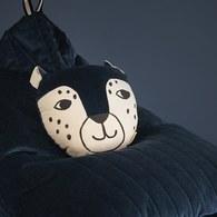 西班牙Nobodinoz 哈囉! 花豹先生玩偶靠枕