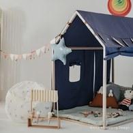 西班牙Nobodinoz 遊戲小屋帳篷 (愛琴海藍)