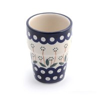 荷蘭BunzlauCastle 眼珠與花圖紋牛奶杯