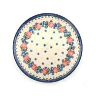 荷蘭BunzlauCastle 花圈圖紋陶盤 (直徑23.5公分)