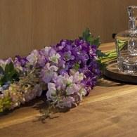 荷蘭Emerald人造花藝 紫色飛燕草
