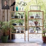 荷蘭HkLiving 簡約風玻璃展示櫃