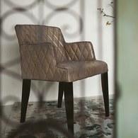 荷蘭PURE 復古格菱紋單人椅