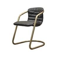荷蘭PURE 工業風造型單椅 (黑)