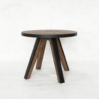 荷蘭PURE 工業風橡木圓桌 (直徑100公分)