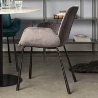 荷蘭Zuiver 英式線條扶手椅(深灰)
