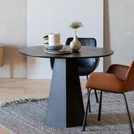 荷蘭Zuiver 椎狀木製圓形餐桌
