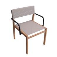 泰國OKWood 網狀椅面可堆疊單椅