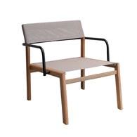 泰國OKWood 網狀椅面可堆疊休憩單椅