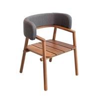 泰國OKWood 簡約舒適風單椅 (柚木)