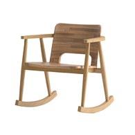泰國OKWood 木紋原木搖椅