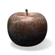 德國BULL&STEIN 青銅系列蘋果雕塑 (直徑60公分)