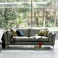 英國 Alexander&James家具 跳動的日不落音樂節奏三人座沙發 含抱