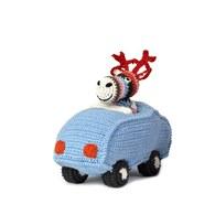 荷蘭ACP 麋鹿開車玩偶