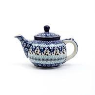 荷蘭BunzlauCastle 藍白地中海圖紋茶壺 (400毫升)