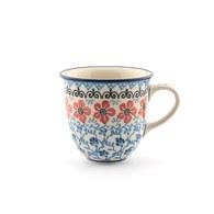 荷蘭BunzlauCastle 紫羅蘭圖紋鬱金香馬克杯