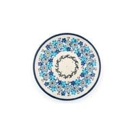 荷蘭BunzlauCastle 多色地中海圖紋蛋糕盤 (直徑12.3公分)