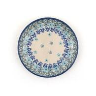 荷蘭BunzlauCastle 古典花冠圖紋蛋糕盤 (直徑12.3公分)