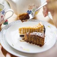 荷蘭FloraCastle 粉晶色飄香花圖紋餐盤 (直徑27公分)