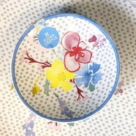 荷蘭FloraCastle 多色花束圖紋甜點盤 (直徑10公分)