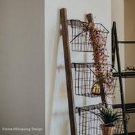 丹麥 Nordal 田園風附掛籃靠牆梯