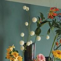 荷蘭Emerald人造植物 絨球花