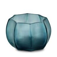 德國Guaxs玻璃燭台 KOONAM系列 (洋藍、高8公分)