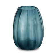 德國Guaxs玻璃花器 KOONAM系列 (洋藍、高24公分)