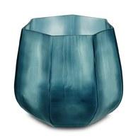德國Guaxs玻璃花缽 KOONAM系列 (洋藍、高24公分)