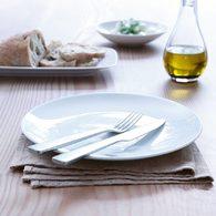英國LSA 白瓷圓形餐盤4入組 (直徑20公分)