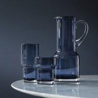 英國LSA 風格高低差玻璃水壺 (寶藍)
