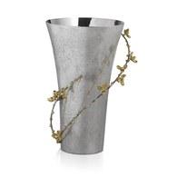 美國MichaelAram工藝飾品 白英苦甜藤系列花器 (高25.4公分)