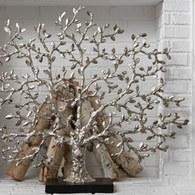 美國MichaelAram藝術擺飾 經典永生樹 (銀)