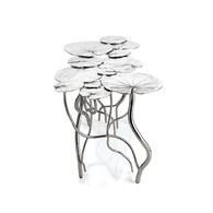 美國Michael Aram工藝飾品 睡蓮池畔系列咖啡桌(長74公分)