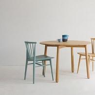 丹麥Sketch 鏤空椅背單椅 (藍)
