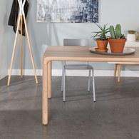 荷蘭Zuiver倒角設計餐廳餐桌(梣木、長180公分)