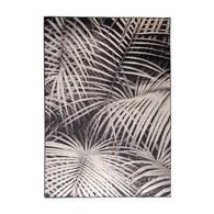 荷蘭Zuiver 雨林棕梠葉地毯 (黑、長240公分)