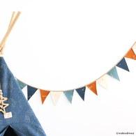 西班牙Nobodinoz 寶貝派對裝飾掛飾 (多色彩虹)