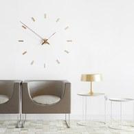 西班牙nomon Tacón開放式造型藝術掛鐘 (黃銅)