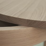 波蘭Sits 收納款橡木圓桌 (直徑50公分)