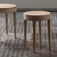 波蘭Sits 收納款橡木圓桌 (直徑40公分)