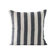 丹麥tineKhome 簡約條紋方形靠枕 (墨藍、長50公分)