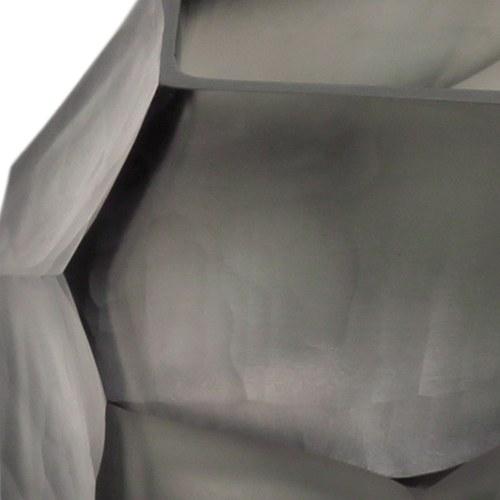 德國Guaxs玻璃燭台 CUBISTIC系列 (灰褐、高9公分)