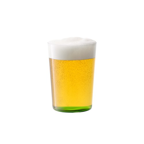 英國LSA 清新底彩玻璃杯4入組 560ml (草綠色系)