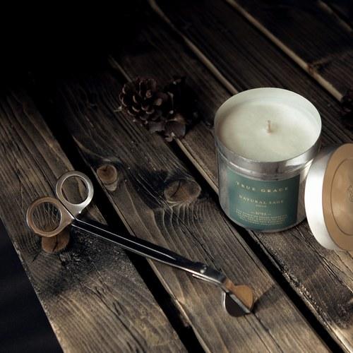 英國TrueGrace居家香氛 不鏽鋼燭芯剪