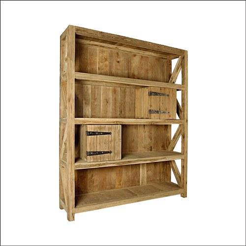 比利時Sempre 原木大型置物櫃